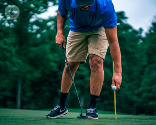 Returning to golf after hip replacement