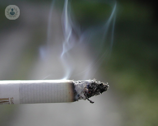 Smoking related lung disease