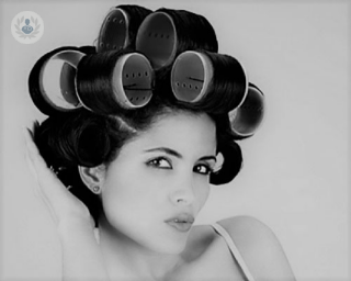 Hair rollers alopecia