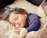 Child asleep bedwetting