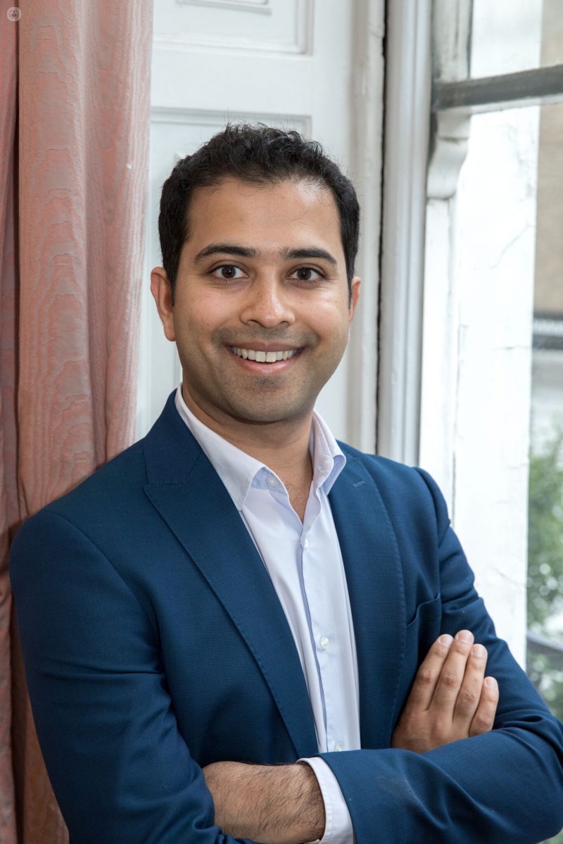 Dr Kapil Bhargava: dermatologist in W1G Marylebone London