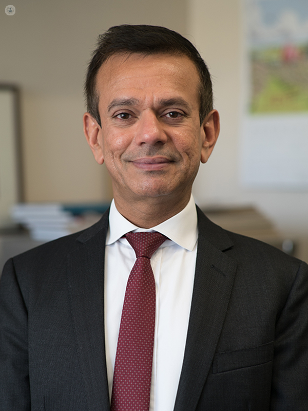 Dr Ashish Chandra: pathologist in Central London